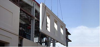 Công nghệ tường nhẹ bê tông cốt thép lắp ghép